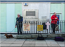 SH7882 : Mostyn Street preacher, Llandudno by Matt Harrop