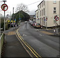ST0889 : No Right Turn signs, River Street, Treforest by Jaggery