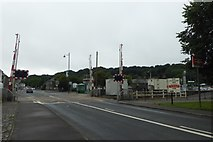 SH5639 : Level Crossing by DS Pugh