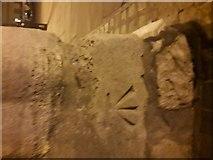 TL8564 : Cut Mark: Bury St. Edmunds, Abbey Gate by Matt Musgrove