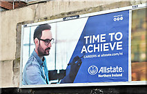 "J3373 : Allstate ""Careers"" poster, Belfast (March 2019) by Albert Bridge"