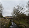 SE1537 : Bradford Beck and new housing by habiloid