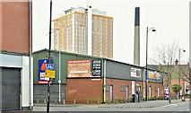 J3373 : Gaffikin Street (proposed apartments) site, Belfast - March 2019(1) by Albert Bridge