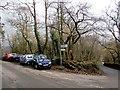 SO2320 : Parking area near Llanbedr, Powys by Jaggery