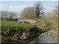 SJ7667 : Hermitage Bridge from the east by Stephen Craven