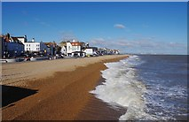 TR3752 : The beach at Deal, Kent by P L Chadwick