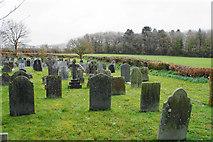 SS6138 : Churchyard at Loxhore Church by Bill Boaden