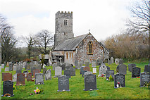 SS6138 : St Michael & All Angels, Loxhore by Bill Boaden
