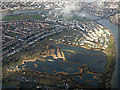 TQ2276 : London Wetlands Centre from the air by Thomas Nugent