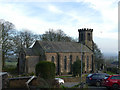 SJ8657 : St Thomas church, Mow Cop, north side / east end by Stephen Craven