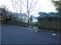 SE1735 : Pedestrian & Cycle Access to Webb Drive from Lister Lane by Stephen Armstrong