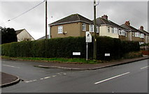 ST2896 : Corner of Clark Avenue and Five Locks Road, Cwmbran by Jaggery