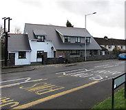 ST2896 : Crosskeys, Five Locks Road, Cwmbran by Jaggery