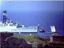SC2484 : HMS Mohawk meets Odin's Raven by John Stephen