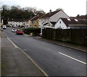 ST2896 : Houses on the west side of Meadowbrook Avenue, Cwmbran by Jaggery
