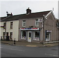 ST0889 : The Barber Shop on a Treforest corner by Jaggery