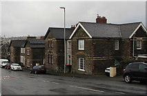 ST3288 : Stone houses, Christchurch Road, Newport by Jaggery