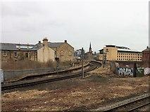 NZ2563 : Gateshead West railway station (site), Tyne & Wear by Nigel Thompson