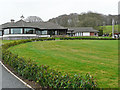 NY5358 : The clubhouse, Brampton Golf Club by Rose and Trev Clough