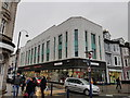 SN5881 : Former Burtons building, Terrace Road, Aberystwyth by Colin Cheesman