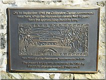 NT2273 : Plaque on Roseburn Old Bridge by Richard Sutcliffe