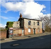 SJ9495 : Old house on Manchester Road by Gerald England