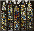 TF4024 : Window nV, St Mary Magdalene church, Gedney by Julian P Guffogg