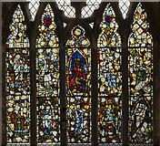 TF4024 : Window nV, St Mary Magdalene church, Gedney by Julian P Guffogg