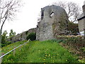SJ0566 : Turret in Denbigh Town Walls by Eirian Evans