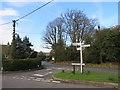 TQ4859 : Road junction at Knockholt Pound by Malc McDonald