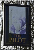 TA0832 : Sign for the Pilot public house, Hull by JThomas