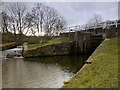 SE1338 : Hirst Lock, Leeds and Liverpool Canal by David Dixon