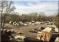 SO0253 : Timber yard by Alan Hughes