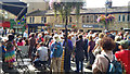 SD9927 : Rally against grouse shooting - St George's Square, Hebden Bridge by Phil Champion