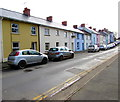 SM9515 : Cars and colourful houses, Cambrian Place, Haverfordwest by Jaggery