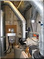 TG2508 : Broadland District Council Emergency Centre - air filtration plant room by Evelyn Simak