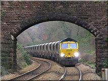 ST1882 : Coal train near Llanishen by Gareth James