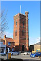 TL4501 : Victorian Water Tower by Des Blenkinsopp