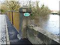 SE2336 : Newlay Bridge corner pier by Stephen Craven