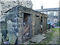 SE2337 : Former privies off Back Lane, Horsforth by Stephen Craven