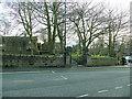 SE2337 : Entrance to Horsforth Peace Garden by Stephen Craven