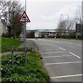SM9516 : Sydney Rees Way name sign, Haverfordwest by Jaggery