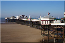 SD3036 : North Pier, Blackpool by Ian S