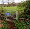 SO9724 : Kissing gate access to a public footpath, Prestbury by Jaggery