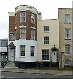 SO8318 : 22 (left) & 20 London Road, Gloucester by Alan Murray-Rust