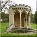 SO8418 : King's Board, Hillfield Gardens by Alan Murray-Rust