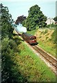 SS9712 : The 'Tivvy Bumper' approaching Tidcombe Lane Bridge by Alan Murray-Rust
