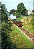 SS9712 : The 'Tivvy Bumper' approaching Tidcombe Lane Bridge by Alan Murray-Rust