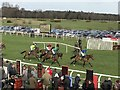TF9228 : National Hunt racing at Fakenham, Norfolk by Richard Humphrey