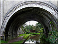 SJ9553 : Hazelhurst Aqueduct west of Denford in Staffordshire by Roger  Kidd